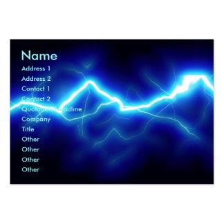 Zap Business Card Template