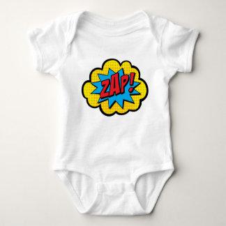Zap! Comic Book Baby Bodysuit