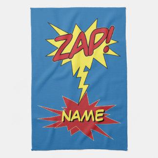 ZAP! custom hand towel