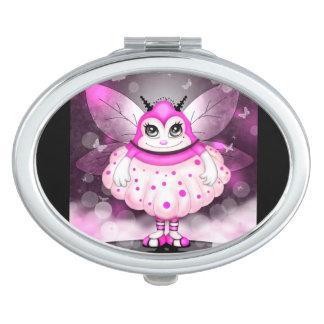 ZAP  CUTE CARTOON compact mirror OVAL