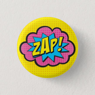 ZAP! Superhero Pin GV2