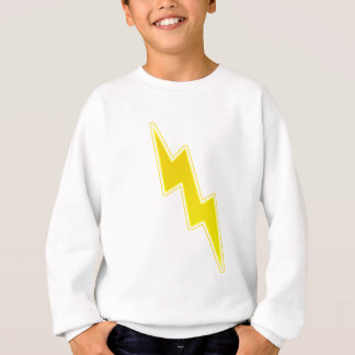 Zap - Yellow Lightning Bolt Sweatshirt
