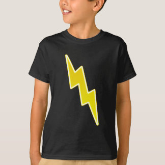 Zap - Yellow Lightning Bolt T-Shirt