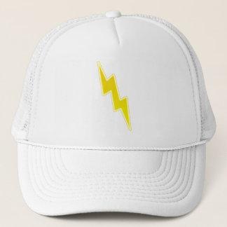 Zap - Yellow Lightning Bolt Trucker Hat