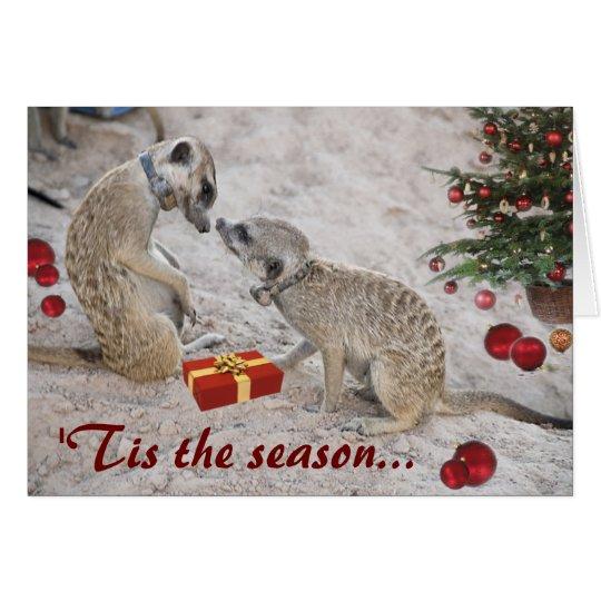 Zaphod and Monkulus Season's Greetings - Card