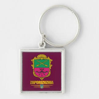 """Zaporizhia (Zaporozhye) COA"" Keychains"