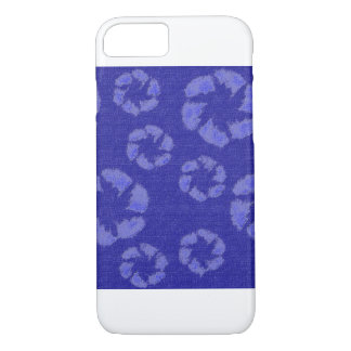 Zappy Blue Flowers iPhone 7 Case