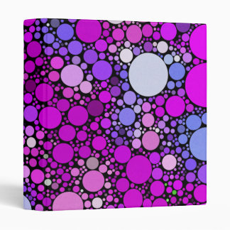 Zappy Bubbles,pink Binder