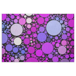 Zappy Bubbles,pink Fabric