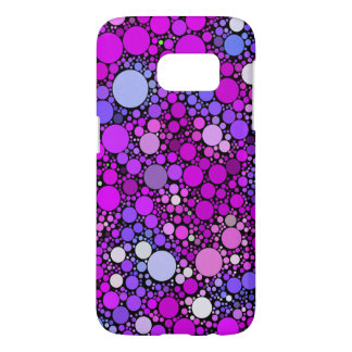 Zappy Bubbles,pink Samsung Galaxy S7 Case