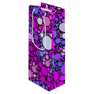 Zappy Bubbles,pink Wine Gift Bag