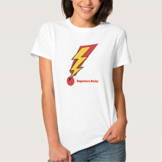 Zapsters Rule Gal T-shirt