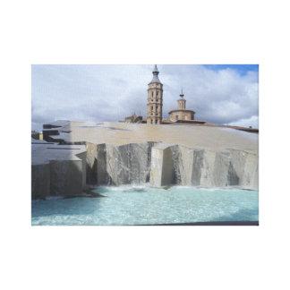 Zaragoza Canvas Print
