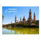 Zaragoza Spain postcard