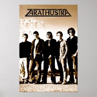 "Zarathustra ""High Wire"" Poster"