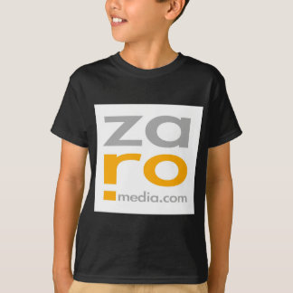 ZARO Logo Merchandise in White T-Shirt