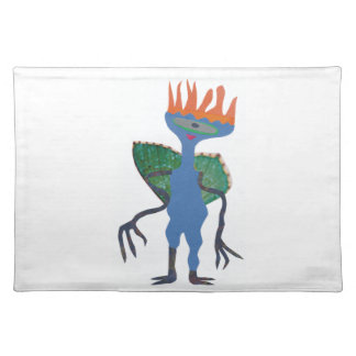 Zarpan  the space friend placemat