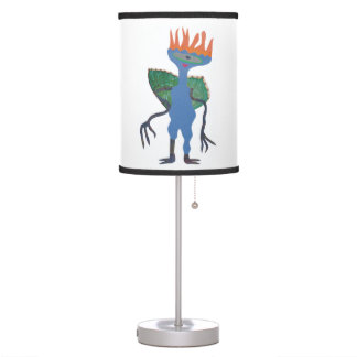 Zarpan  the space friend table lamp