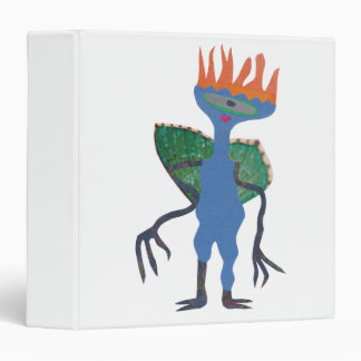 Zarpan  the space friend vinyl binder