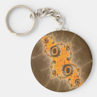 Zaz12 Basic Button Keychain