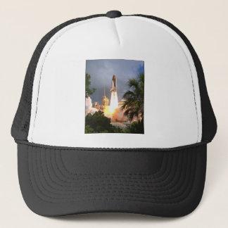 ZAZ216 STS57 Launch Trucker Hat