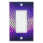 Zaz 8 Single Rocker Light Switch Cover