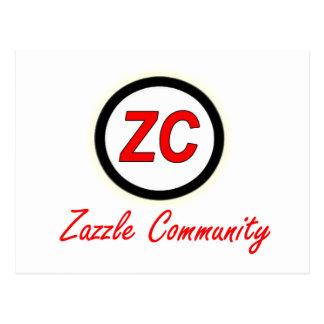 Zazzle Community Postcard