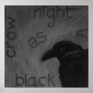 zazzle crow poster