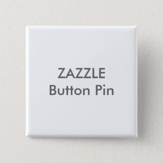 Zazzle Custom Square Button Pin Blank Template