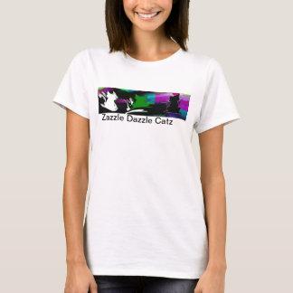 Zazzle Dazzle Catz Tee shirt