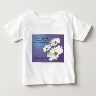 zazzle flower 2 design baby T-Shirt