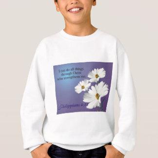 zazzle flower 2 design sweatshirt