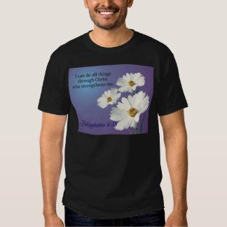 zazzle flower 2 design tee shirt