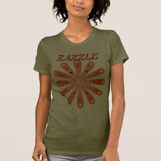 Zazzle flower t shirts