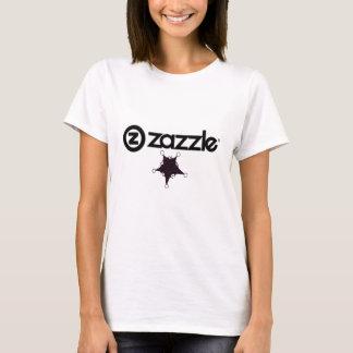 Zazzle_logo _on white, star -black T-Shirt