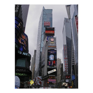 ZAZZLE Makes It To Broadway! Poster