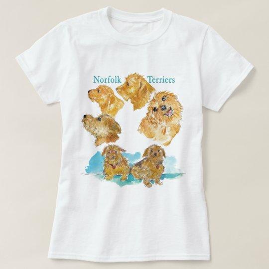 Zazzle NORFOLKS 2012 T-Shirt