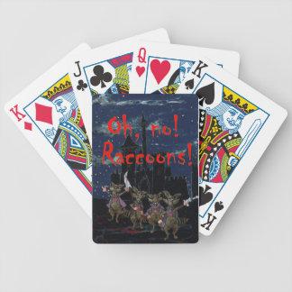 Zazzle ohno raccoonsOh, no! Raccoons! Poker Deck