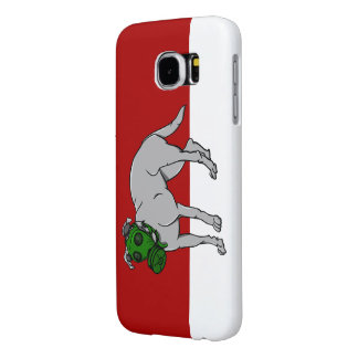 zazzle red and white backgrond samsung galaxy s6 cases