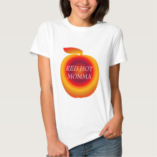 ZAZZLE, RED HOT MOMMA TEES