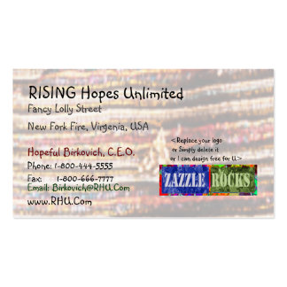 ZAZZLE ROCKS - Fashion Fabric Patterns Pack Of Standard Business Cards