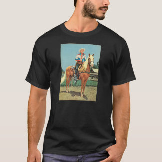 Zazzle T-Shirt ROY ROGERS 1952 Trigger Cowboy