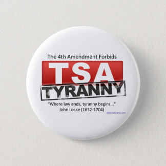 Zazzle TSA Tyranny Image 2 Inch Round Button