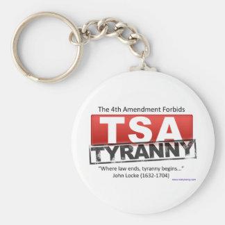 Zazzle TSA Tyranny Image Keychain