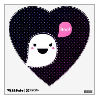 "Zazzle wall decal : Cute ""BOO"" Ghost"