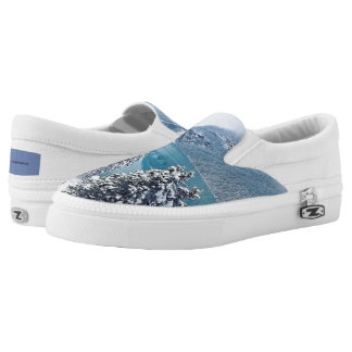 ZazzleChristmas Slip-On Sneakers
