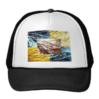 ZAZZLELIST Dreams with golden strands Trucker Hat