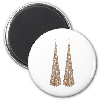 Zazzlelist Jewel Tree Decorations 2 Inch Round Magnet