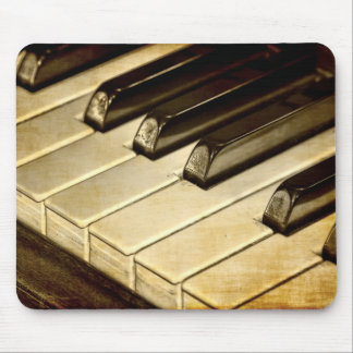ZazzleTops Award! Vintage Piano Keys Mousepad