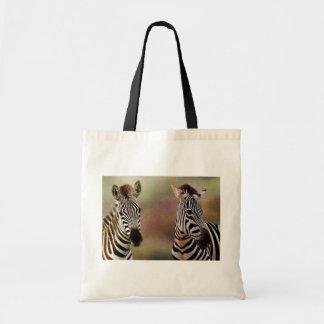 Zazzling Zebras Tote Bag